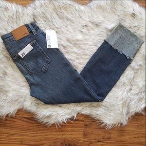 "NWT Joe's Cuffed Cropped Ankle Jeans ""Lynda"""